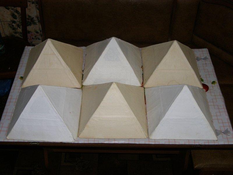 Как сделать лечебную пирамиду своими руками видео 127