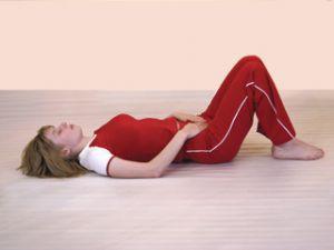 релаксация на спине