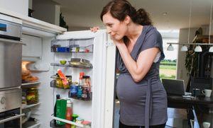 ночная еда с холодильника