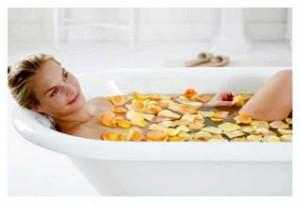 мандариновая ванна
