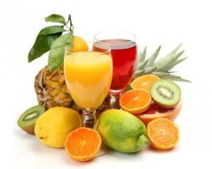 фрукты и сок