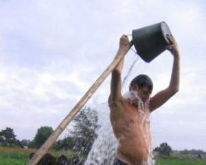 закалывание водой