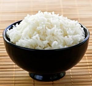 основное блюдо - рис